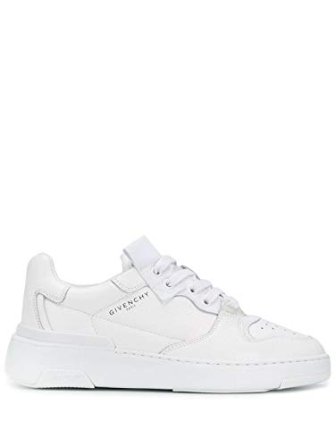 Luxury Fashion | Givenchy Dames BE0010E0L9100 Wit Leer Sneakers | Lente-zomer 20