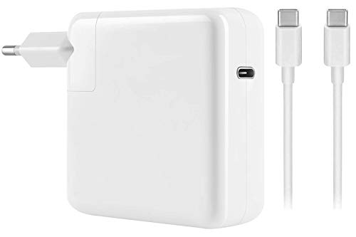 E EGOWAY 87W USB-C Charger Power Supply Adapter Compatible with Mac Book Pro Air with USB-C to USB-C Cable
