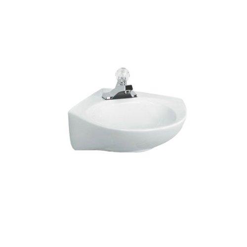 American Standard 0611.004.020 Cornice 4-feet Wall-Hung Lavatory Sink, White