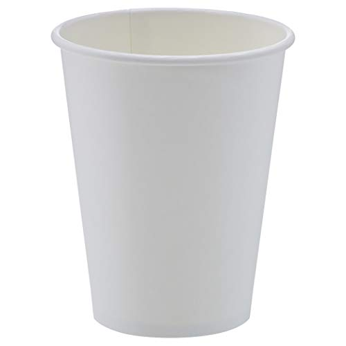 Amazon Basics Compostable 12 oz. Hot Paper Cup, Pack of 1,000