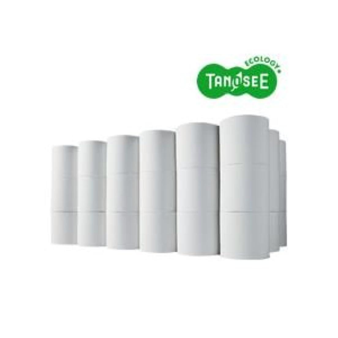ぐったり広大な指定するTANOSEE トイレットペーパー シングル 芯なし 170m 無包装48ロール入