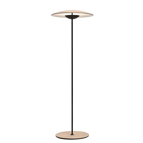 JLXW Led-vloerlamp, industrieel modern, minimalistisch, hoogmast, staande lamp, voor woonkamer, eetkamer, slaapkamer, lezen en meer
