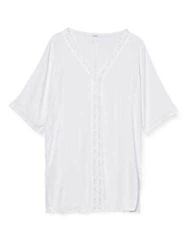 LOVABLE Beachwear Copricostume, Bianco, XL Donna