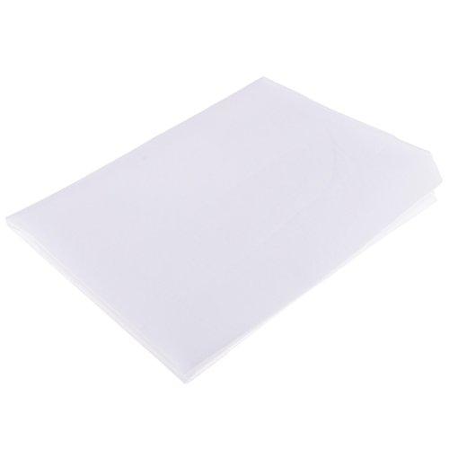 Homyl Bügelvlieseline in weiß, aufbügelbar, für leichte bis mittelschwere Stoffe, einseitig haftend, Vlieseline, Bügelvlies - 1 Meter