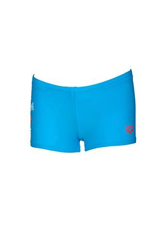ARENA Awt Kids Boy Short Bañador Corto Niño con Protección UV, Bebé-Niños, Turquoise, 6-7