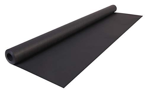 Clairefontaine 195729C Rolle (färbiges Kraftpapier, 10 x 0,7 m, 65 g, PEFC, ideal für Ihre Bastelprojekte) 1 Stück schwarz
