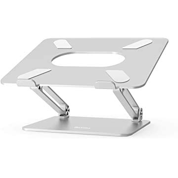 Adjustable Laptop Stand,Ergonomic Laptop Stand with Heat-Vent to Elevate Laptop, Heavy Duty Laptop Holder Compatible with MacBook, Air, Pro All Laptops