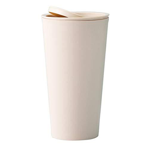 N\A swh5 - Cubo de basura pequeño pequeño para escritorio, papelera reciclada, papelera de mesa,...