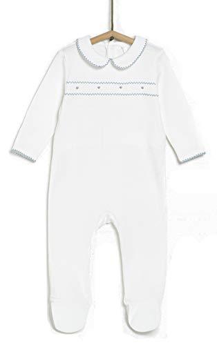 TEX - Pijama para Recién Nacido Unisex, Verde Matiz, 1 a 3 Meses
