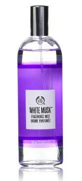 The Body Shop - Fragranza al muschio, in spray, confezione di colore bianco, capacità: 100 ml