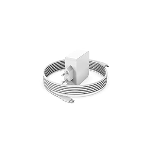 Superer 61 W 65 W USB-C Cargador , apto para MacBook Air 2020 2019 2018 M1 13 pulgadas, MacBook Pro 2020 2019 2018 2017 2016 M1 13 pulgadas,adaptador corriente con 2,3 m cable