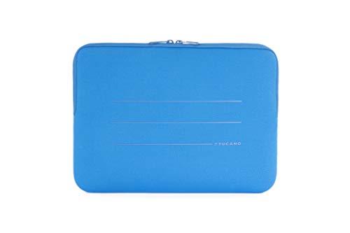 Tucano BFS1314 B Second Skin Segno Neopren Hulle fur Notebooks 13 Zoll bis 14 Zoll MacBook Surface Netbook Blau