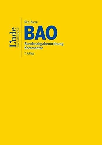 BAO | Bundesabgabenordnung: Kommentar