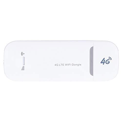 Dongle 4G WiFi, enrutador portátil Módem de Punto de Acceso inalámbrico Interfaz de Tarjeta SIM Fuente de alimentación USB, hasta 150 Mbps, Plug and Play, para Windows XP / 7/8/10 / para iOS/OS X /