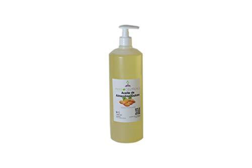 Aceite de Almendras Dulces 100% Puro. PRIMERA PRESIÓN EN FRIO. 1000 ml. INCLUYE VÁLVULA DOSIFICADORA