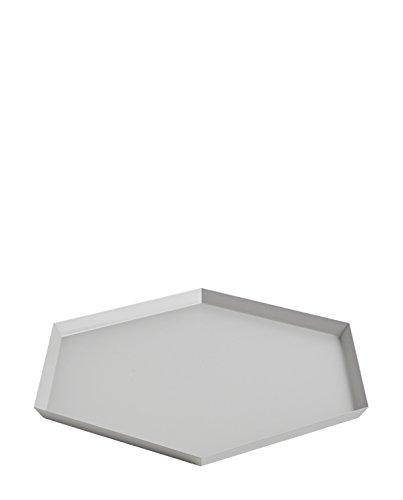 Hay 503961 Tablett, 18/10 Stahl, grau/pulverbeschichtet