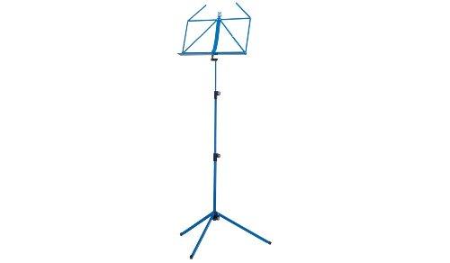 Konig & Meyer 10010-000-54 625 mm bis 1240 mm verstellbarer Notenständer - Blau