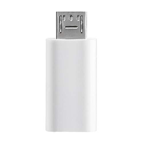 Tipo-C para conector de interfaz micro USB, cable USB 3.1 tipo C para conector de conversión de interfaz micro USB Adaptador tipo C de carga de sincronización de datos para teléfono Android