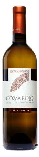 COZZAROLO Vino bianco RIBOLLA GIALLA BOTT 75 CL - IMBALLO DA 6 BOTTIGLIE DA 75 CL