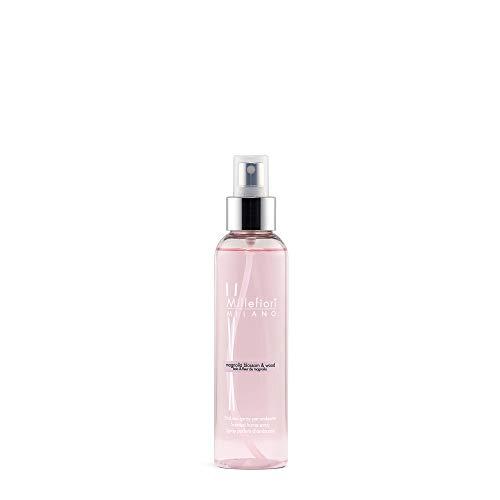 Millefiori 7SRMW Spray Parfum d'Ambiance Natural, Verre, Rose, 4,6 x 4 x 17 cm