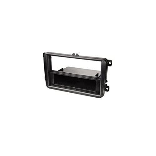 Hama Support de montage 1-DIN pour autoradio (pour VW/Seat/Skoda) Noir