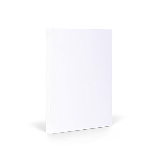 FANTASTICPAPER 4720128 Couture 21 Notizbuch A5 Liniert, Snow & Silver 192 Seiten mit edlem Seitenschnitt