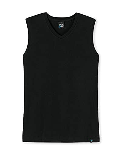 Schiesser Long Life Cotton Tank Top 2er Pack 145139 Black 7