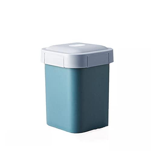 MJJCY Cajas de Almuerzo de microondas Compartimientos de contenedores de Alimentos a Prueba de Fugas Portátil Bento Caja Vajilla 800ml / 1600ml R2042 (Color : Blue Soup Pot)