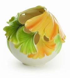 Franz Gingko Spa Potpourri-Vase h=12cm