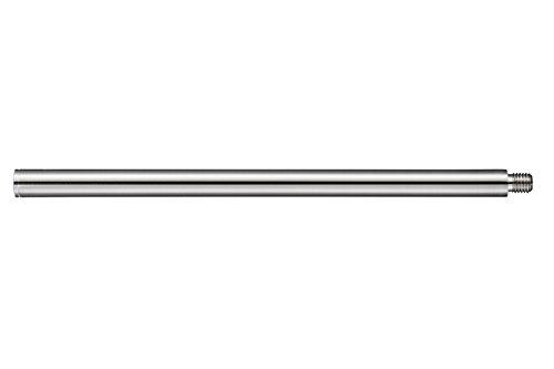 WC-Bürstengriff Edelstahl matt, Länge 280 mm, M12 Aussengewinde