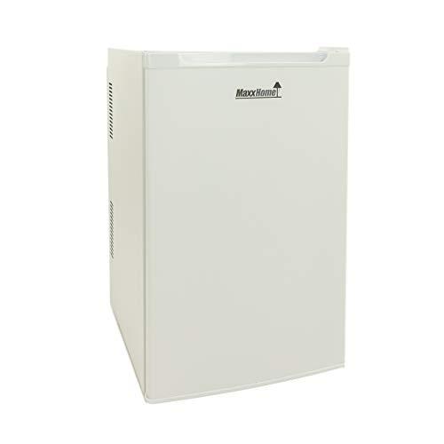 MaxxHome mini frigo elettrico - 80 litri - 230 V - Classe di efficienza energetica B (Bianco Grande)
