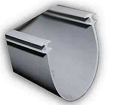 Garage Door Weather Stripping Midland Double T Seal - Length: 18 Foot
