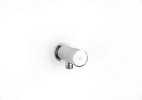Roca Sprint - Grifo de paso angular temporizado exterior para urinario . Griferías hidrosanitarias especiales. Ref A5A9224C00