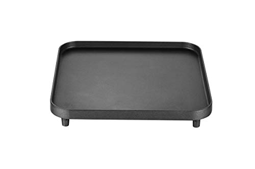 Cadac 2-Cook Grillplatte (glatt), schwarz