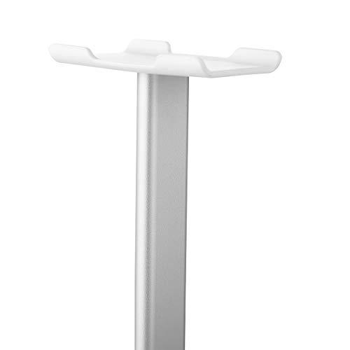 HaiQianXin gemakkelijk mee te nemen afneembare aluminium legering koptelefoon hoofdtelefoon display rack stand houder universeel wit