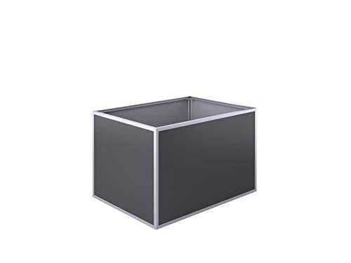 KGT Aluminium-Hochbeet 130 Anthrazit-Grau 16000029