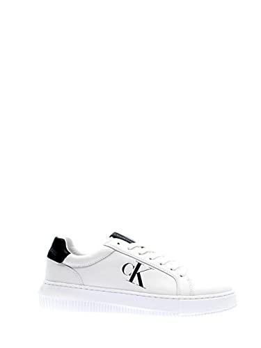 Calvin Klein Jeans - Sneakers Uomo in Pelle con Suola Chunky - Numero 42