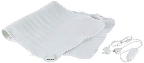 Daewoo Enkelsäng 40 W elektrisk filt med 3 värmeinställningar, överhettningsskydd och överlägset komfortpolyestermaterial (122 x 61 cm)