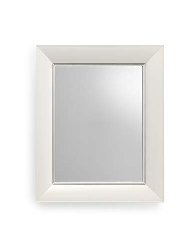 Kartell Francois Ghost, Miroirs Muraux, 65 X 79cm, Blanc Couvrants Opaques