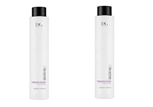 Nika timeless blend anti age shampoo DUO PACK 2 x 250 ml shampoo professionale anti età