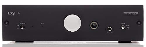 Musical Fidelity LX2-HPA - Amplificador de auriculares (negro)
