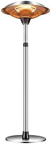 CZYNB Calentador Calentador eléctrico Patio, Premium Calentador al Aire Libre, 3000W Impermeable al Aire Libre Calentador Independiente, 3 Segundos Fast Calefacción, Comercial/Inicio
