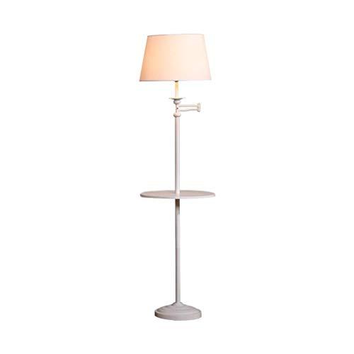 WEM Lámparas de pie para el hogar, interruptor de control remoto, sofá con LED americano, sofá de la sala de estar detrás del estudio, simple y creativo,Interruptor de pie
