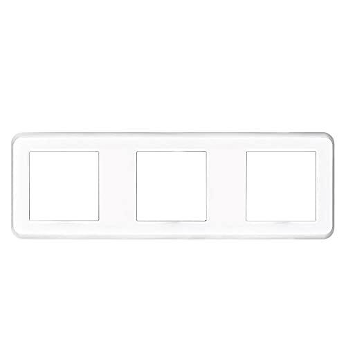 Panel en blanco sin instalar la placa de hierro 223mm * 82mm Panel de zócalo de interruptor de PC blanco