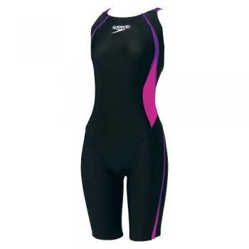 Speedo(スピード) スイミング ウェア 競泳 水着 FLEXΣニースキン レディース エレクトリックパープル/マジェンタ SD45H532 PM
