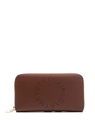 Luxury Fashion | Stella Mccartney Dames 502893W85427773 Bruin Polyester Portemonnees | Lente-zomer 20