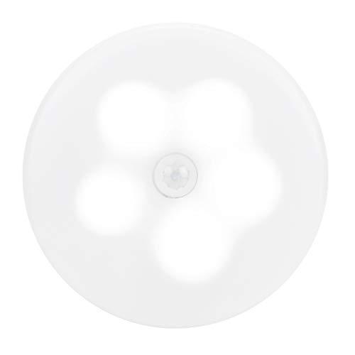 FILFEEL Luz de Sensor de Movimiento, luz de Armario, luz de Pared inalámbrica Recargable, Luces de Armario, lámpara de Noche LED para Dormitorio, Cocina, Escalera, escalón, Pasillo