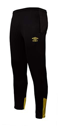 UMBRO Core Training Tapered Pant Jnr Pantalones Largos, Niños, Negro, 8