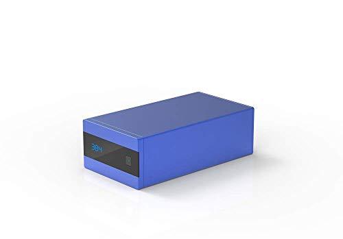 S.M.S.L Sanskrit 10th High-End-DAC USB Optischer Koaxialeingang (Blue)