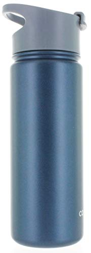 Copco Stainless Steel Double Wall Insulated Water Bottle (18 oz, Flip...